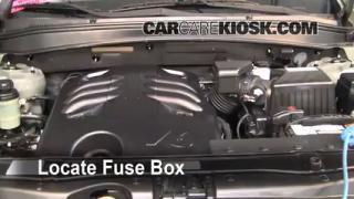 Blown Fuse Check 2007-2012 Hyundai Santa Fe