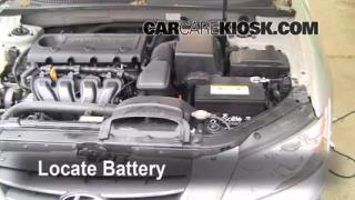 Battery Replacement: 2006-2010 Hyundai Sonata