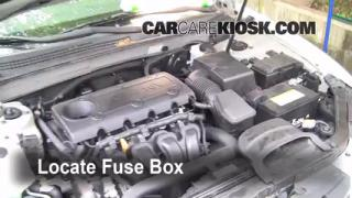 2009 Hyundai Sonata GLS 2.4L 4 Cyl.%2FFuse Engine Part 1 interior fuse box location 2006 2010 hyundai sonata 2009 2008 hyundai sonata fuse box at readyjetset.co