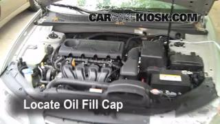 How to Add Oil Hyundai Sonata (2006-2010)