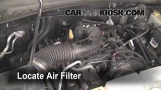 2008-2012 Jeep Liberty Engine Air Filter Check