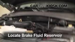 2008-2012 Jeep Liberty Brake Fluid Level Check