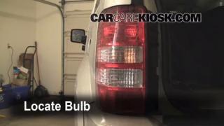 2009 Jeep Liberty Sport 3.7L V6 Lights Reverse Light (replace bulb)