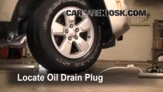Oil & Filter Change Jeep Liberty (2008-2012)