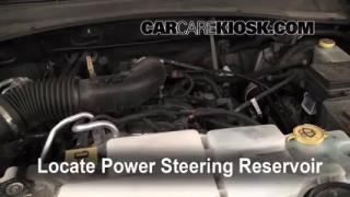 Follow These Steps to Add Power Steering Fluid to a Jeep Liberty (2008-2012)