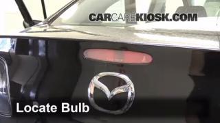 2009 Mazda 3 S 2.3L 4 Cyl. Sedan Lights Center Brake Light (replace bulb)