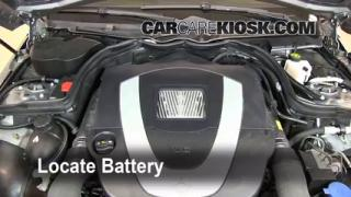 2009 Mercedes-Benz C300 Sport 3.0L V6 Battery Replace