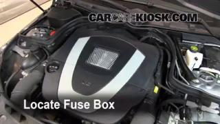 2009 Mercedes Benz C300 Sport 3.0L V6%2FFuse Engine Part 1 check oil level 2008 2015 mercedes benz c300 2009 mercedes benz 2007 mercedes s550 fuse box location at virtualis.co
