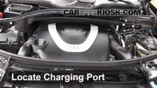 2009 Mercedes-Benz GL450 4.6L V8 Air Conditioner Recharge Freon