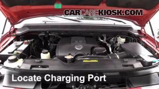 2009 Nissan Armada SE 5.6L V8 FlexFuel Air Conditioner Recharge Freon