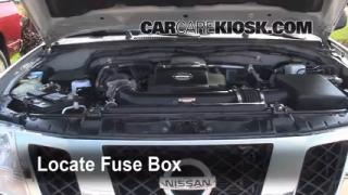 Interior Fuse Box Location: 2005-2016 Nissan Frontier - 2009 ...