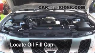 How to Add Oil Nissan Frontier (2005-2016)