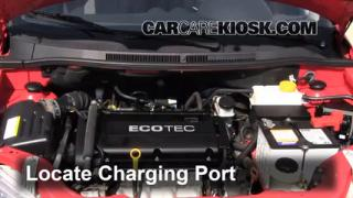 2009 Pontiac G3 1.6L 4 Cyl. Air Conditioner Recharge Freon