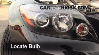 2009 Scion tC 2.4L 4 Cyl. Lights Headlight (replace bulb)