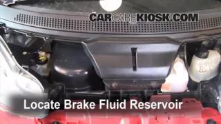 2008-2015 Smart Fortwo Brake Fluid Level Check