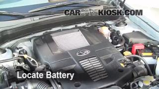 Battery Replacement: 2009-2013 Subaru Forester