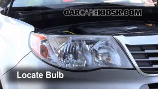 2009 Subaru Forester XT Limited 2.5L 4 Cyl. Turbo Lights Turn Signal - Front (replace bulb)