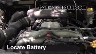 2009 Subaru Outback 2.5i Limited 2.5L 4 Cyl. Battery Jumpstart