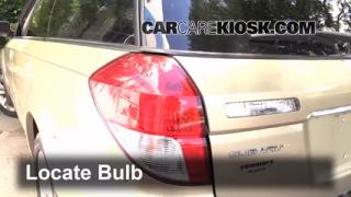 2009 Subaru Outback 2.5i Limited 2.5L 4 Cyl. Lights Reverse Light (replace bulb)