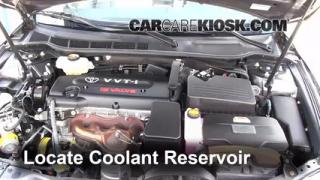 How to Add Coolant: Toyota Camry (2007-2011)