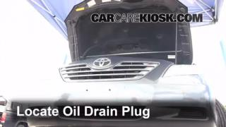 2009 Toyota Camry Hybrid 2.4L 4 Cyl. Oil Change Oil and Oil Filter