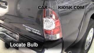 2009 Toyota Tacoma Pre Runner 4.0L V6 Crew Cab Pickup (4 Door) Lights Tail Light (replace bulb)