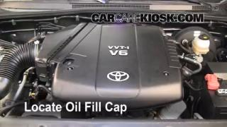 How to Add Oil Toyota Tacoma (2005-2014)