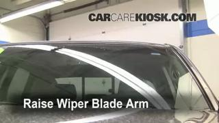 Front Wiper Blade Change Toyota Tacoma (2005-2014)