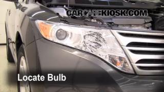 Parking Light Change 2009-2016 Toyota Venza