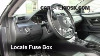 Interior Fuse Box Location: 2009-2016 Volkswagen CC