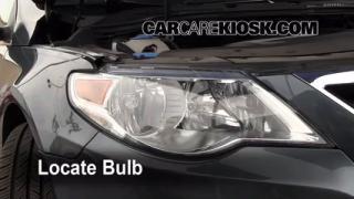 Headlight Change 2009-2014 Volkswagen CC