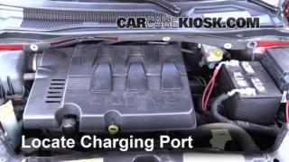 2009 Volkswagen Routan SEL 4.0L V6 Air Conditioner Recharge Freon