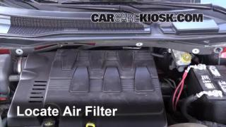 2009 Volkswagen Routan SEL 4.0L V6 Air Filter (Engine) Check