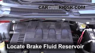 2009 Volkswagen Routan SEL 4.0L V6 Brake Fluid Add Fluid