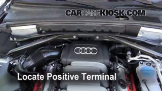2010 Audi Q5 Premium 3.2L V6%2FBattery Locate Part 2 replace a fuse 2009 2016 audi q5 2010 audi q5 premium 3 2l v6,Fuse Box In Audi Q5