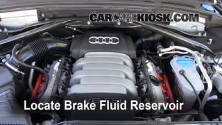 Agregar líquido de frenos de Audi Q5 2009-2014