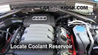 Reparación de pérdidas de anticongelante de Audi Q5 2009-2014