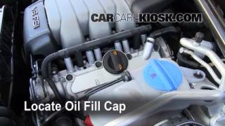 Cómo agregar aceite en un Audi Q5 (2009-2014)