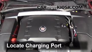 2010 Cadillac CTS 3.0L V6 Sedan Air Conditioner Recharge Freon