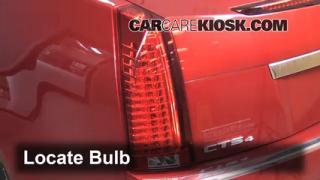 2010 Cadillac CTS 3.0L V6 Sedan Lights Reverse Light (replace bulb)