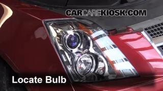 2010 Cadillac CTS 3.0L V6 Sedan Lights Turn Signal - Front (replace bulb)