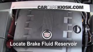 2008-2014 Cadillac CTS Brake Fluid Level Check