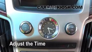 How to Set the Clock on a Cadillac CTS (2008-2015)