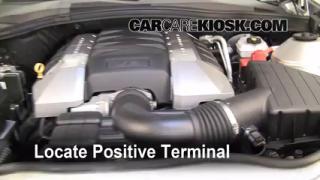2010 Chevrolet Camaro SS 6.2L V8 Battery Jumpstart