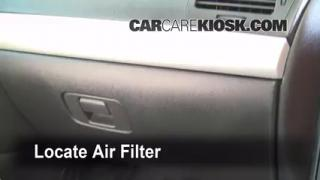 Cabin Filter Replacement: Chevrolet Cobalt 2005-2010