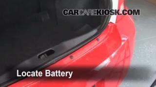 2010 Chevrolet Cobalt LT 2.2L 4 Cyl. Sedan (4 Door) Battery Replace