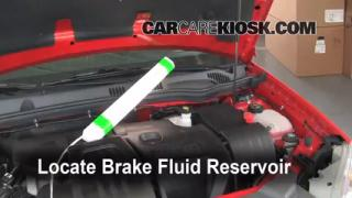 2010 Chevrolet Cobalt LT 2.2L 4 Cyl. Sedan (4 Door) Brake Fluid Check Fluid Level
