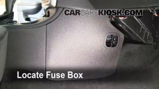 Interior Fuse Box Location: 2005-2010 Chevrolet Cobalt