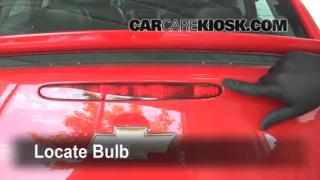 Third Brake Light Bulb Change Chevrolet Cobalt (2005-2010)