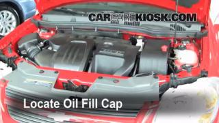 How to Add Oil Chevrolet Cobalt (2005-2010)